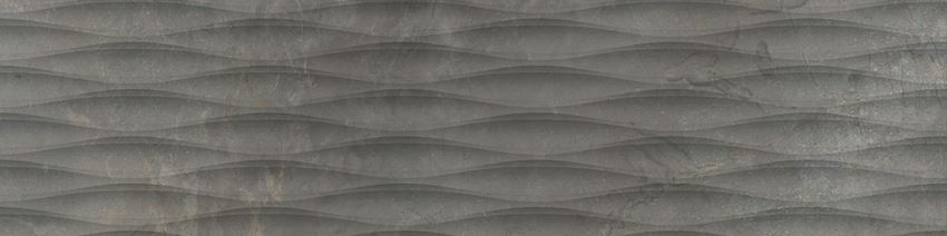 Płytka dekoracyjna 29,7x119,7 cm Cerrad Masterstone Graphite waves