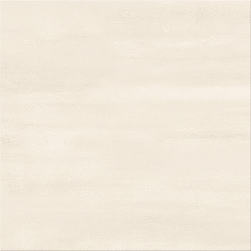 Płytka podłogowa 42x42 cm Cersanit Calm Organic G432 cream satin