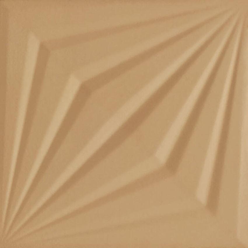 Dekoracja ścienna 19,8x19,8 cmcm Paradyż Urban Colours Gold Inserto Struktura A