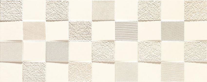 Dekor ścienny 29,8x74,8 cm Tubądzin Veridiana white