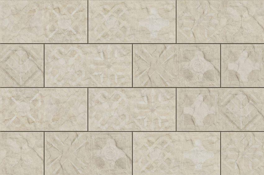 Płytka dekoracyjna 14,8x30 cm Cerrad Torstone bianco decor