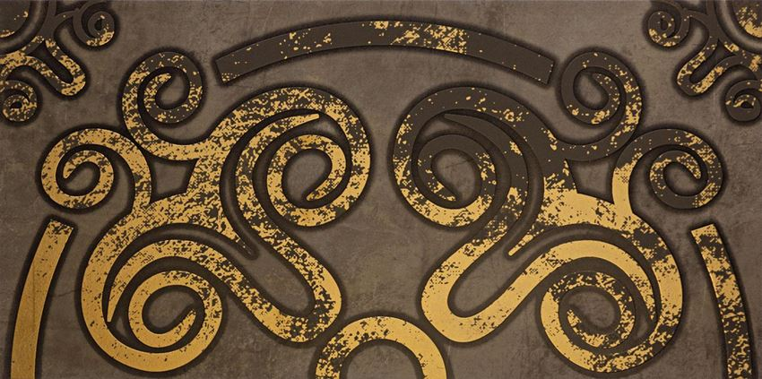 Dekor ścienny 59,8x29,8 cm Tubądzin Palacio ornament