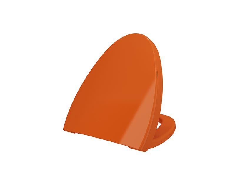 Deska WC duroplast wolnoopadająca Glossy Orange Bocchi Etna