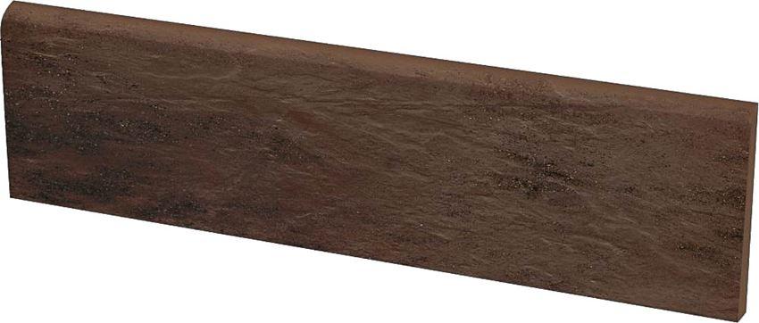 Płytka cokołowa 8,1x30 cm Paradyż Semir Brown
