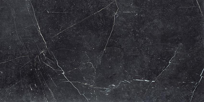 Płytka ścienno-podłogowa 89,8x179,8 cm Paradyż Barro Nero Mat