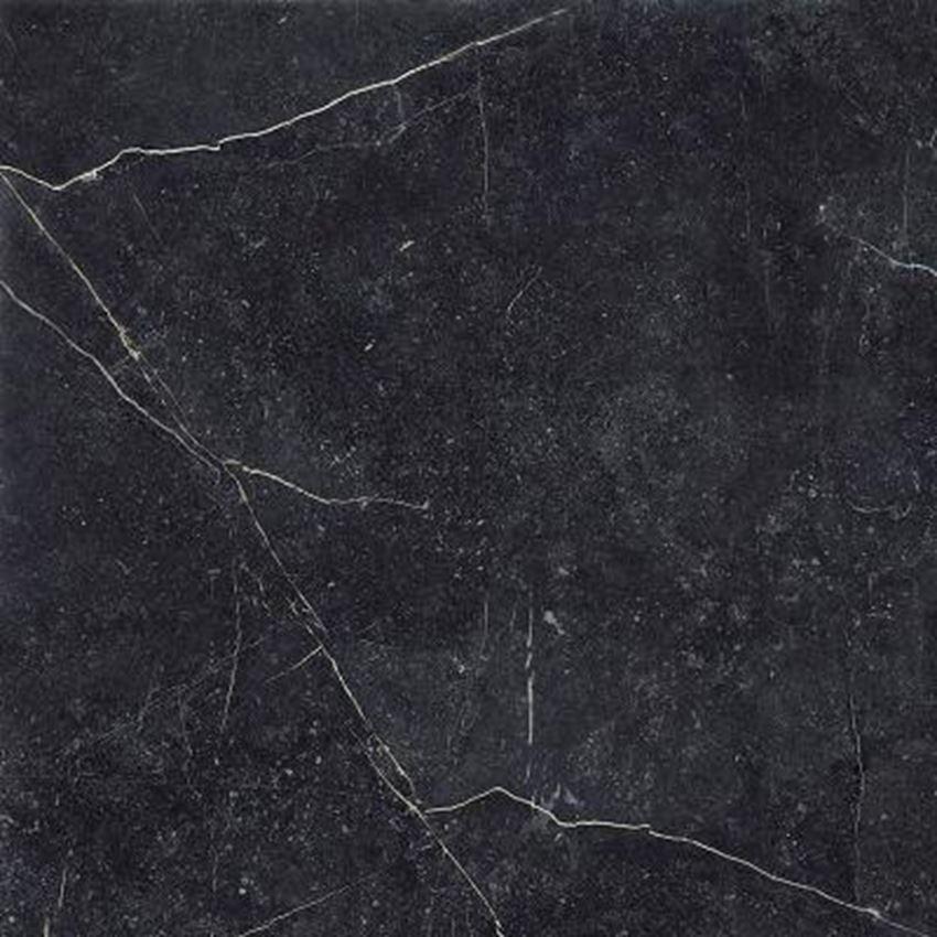 Płytka ścienno-podłogowa 90x90 Paradyż Barro Nero Gres Szkany Rektyfikowany Matowy