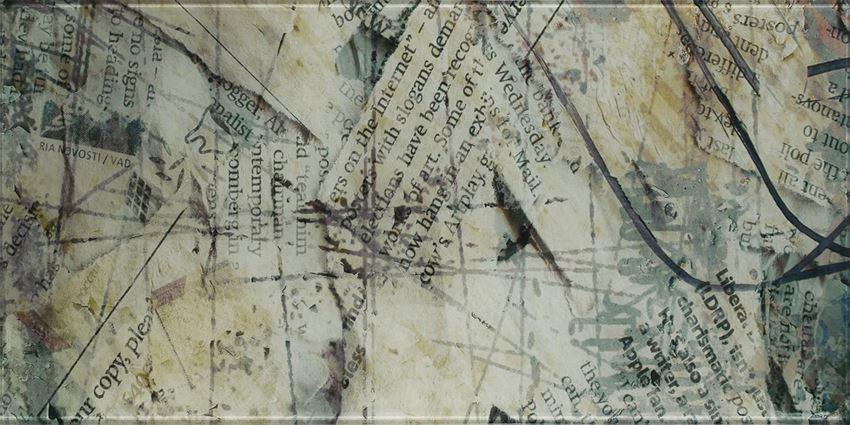 Dekoracja ścienna 30x60 cm Paradyż Ermeo inserto szklane C