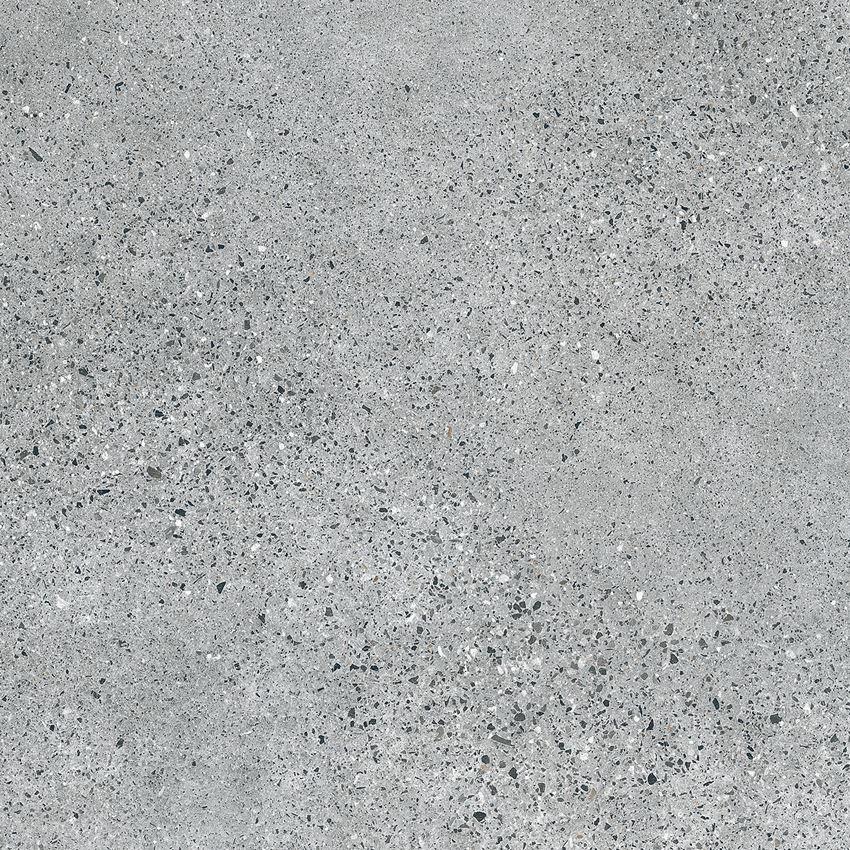 Płytka ścienno-podłogowa 59,8x59,8 cm Tubądzin Terrazzo grey MAT