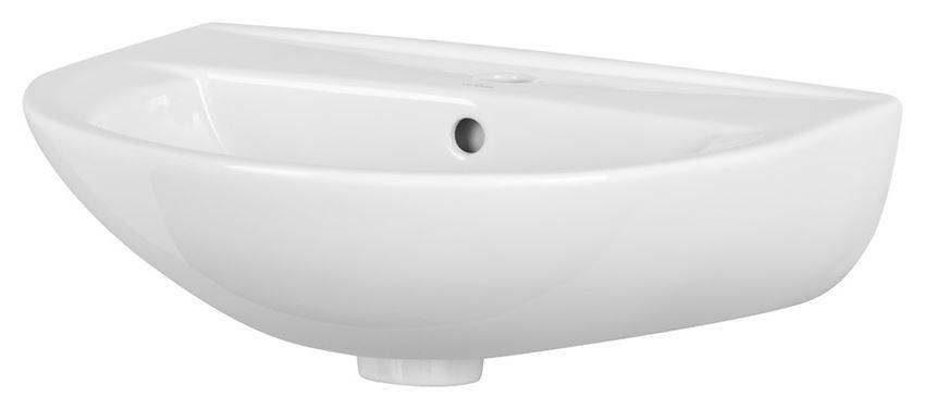 Umywalka wisząca 55 cm z otworem Cersanit President