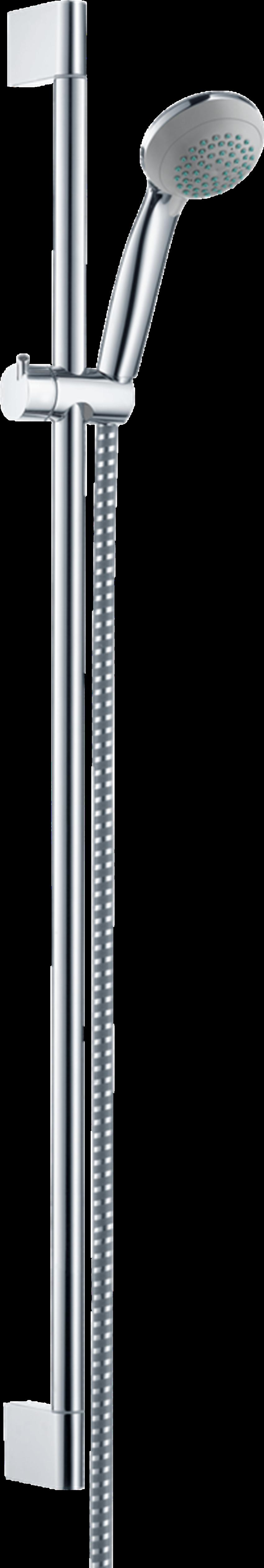 Zestaw prysznicowy Vario z drążkiem 90 cm Hansgrohe Crometta 85