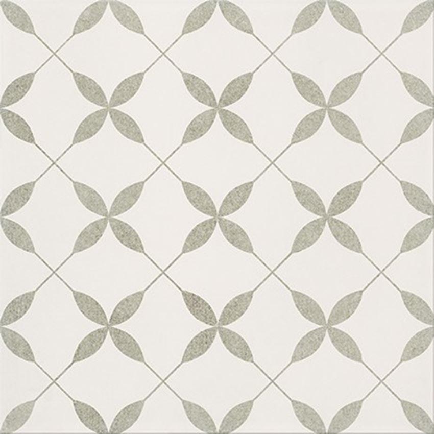 Płytka ścienno-podłogowa 29,8x29,8 cm Opoczno Patchwork Clover Grey Pattern