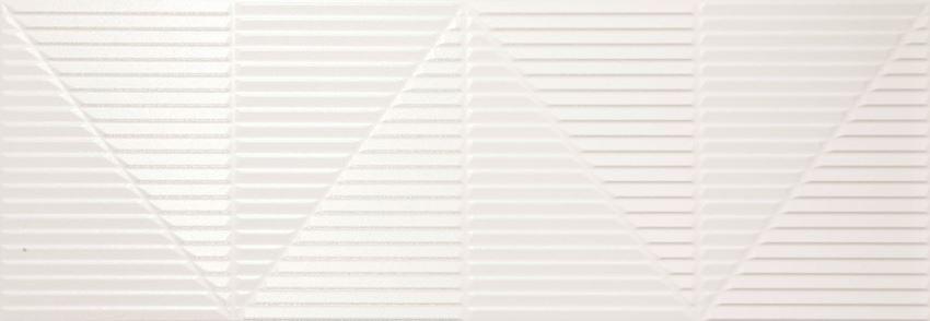 Płytka dekoracyjna 31,5x90 cm Azario Tessor White Dekor
