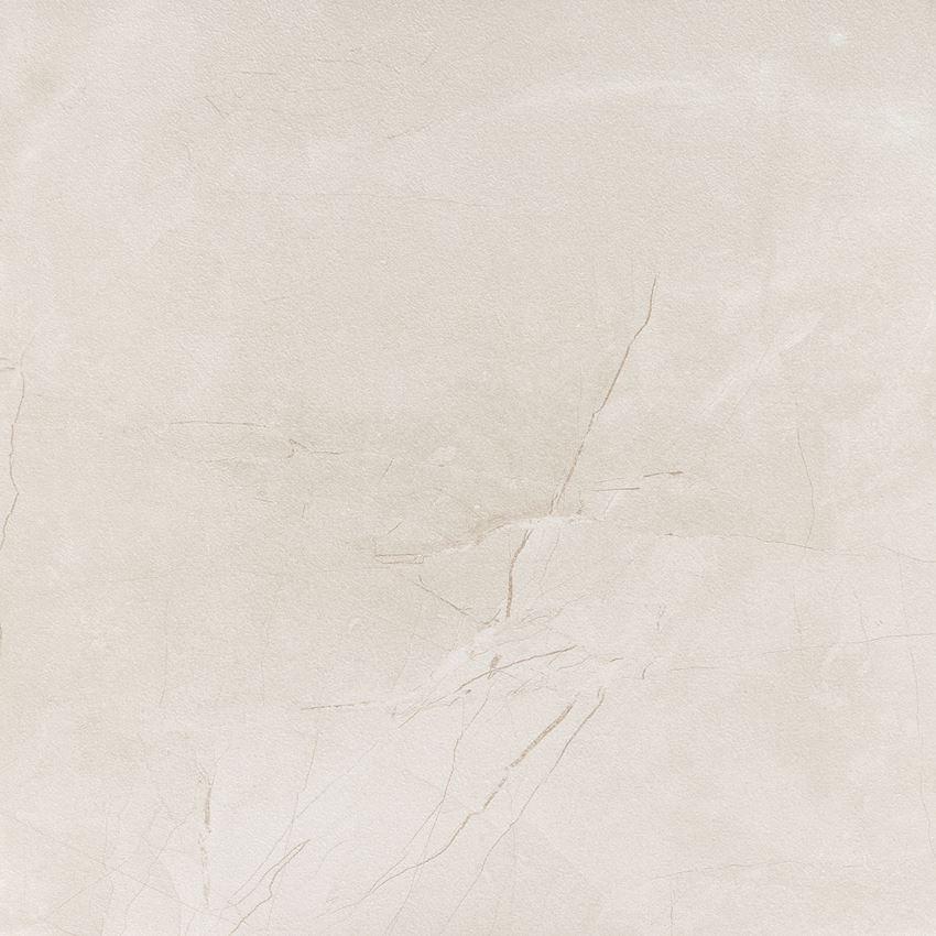 Płytka podłogowa (gresowa) 59,8x59,8 cm Tubądzin Muse Ivory LAP