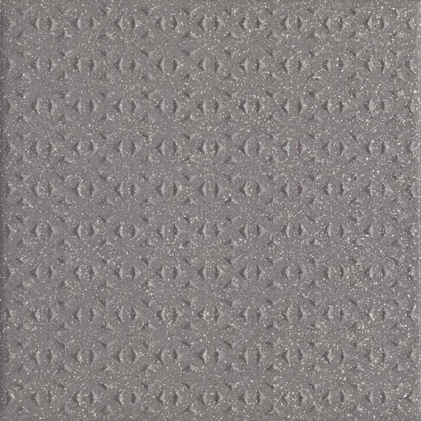 Płytka ścienno-podłogowa 19,8x19,8 cm Paradyż Bazo Nero Gres Sól-Pieprz Struktura
