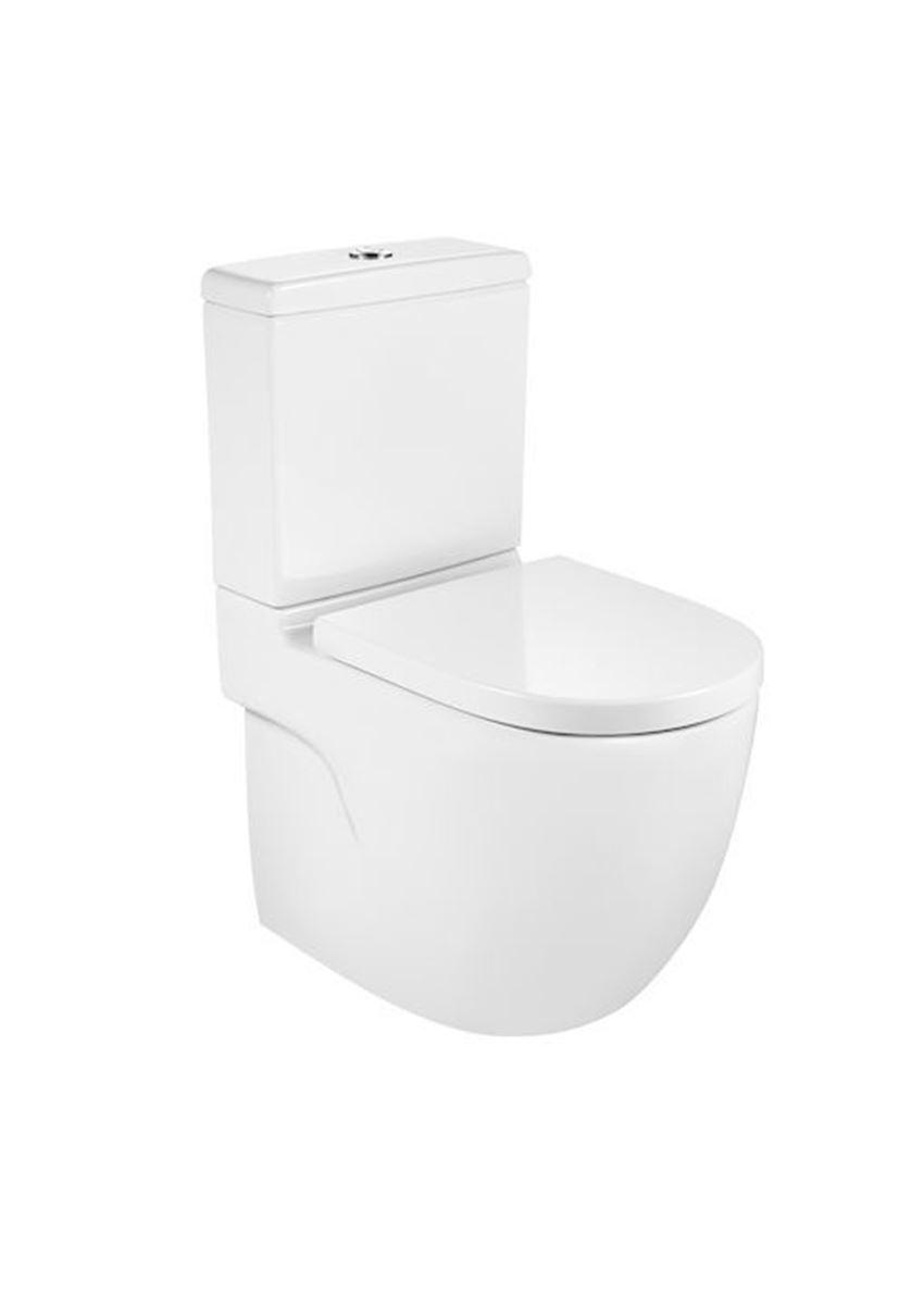Miska WC Rimless o/podwójny do kompaktu Roca Meridian