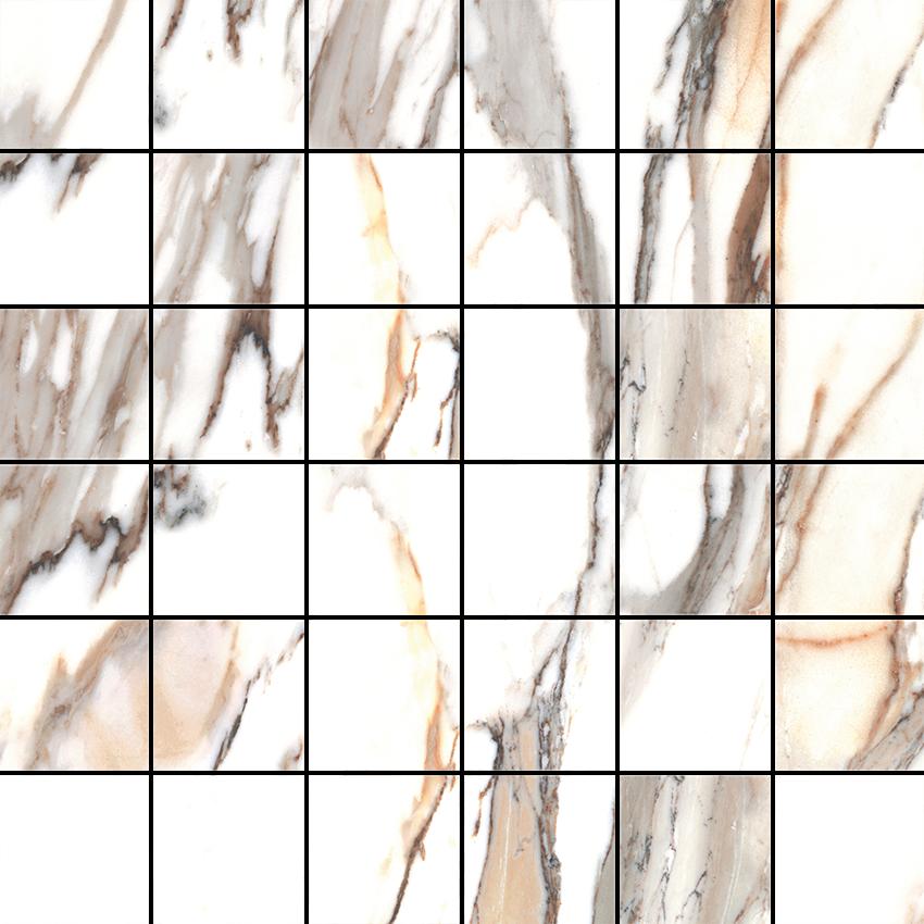 Mozaika 30x30 cm Cerrad Calacatta gold Poler