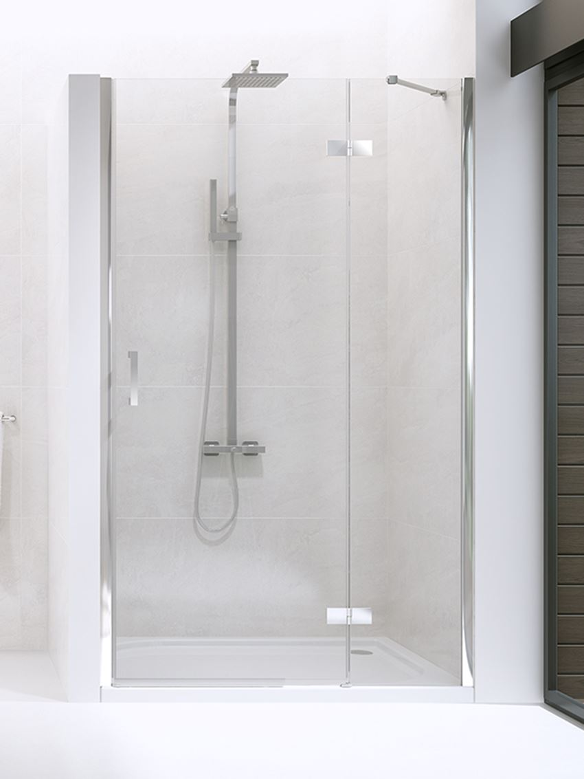 Drzwi prysznicowe wnękowe prawe New Trendy New Renoma