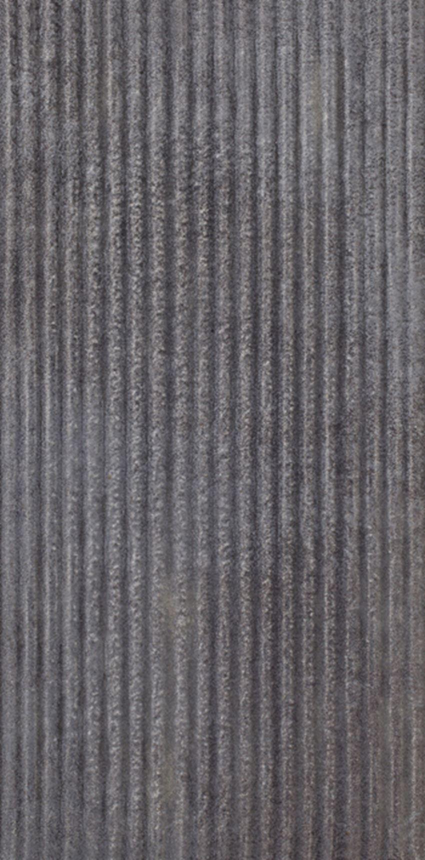 Płytka stopnicowa 14,8x30 cm Paradyż Bazalto Grafit B Podstopnica Struktura Płytka