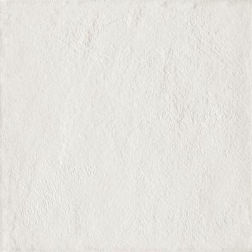 Płytka ścienno-podłogowa 19,8x19,8 cm Paradyż Modern Bianco Gres Szklany Strukturalny