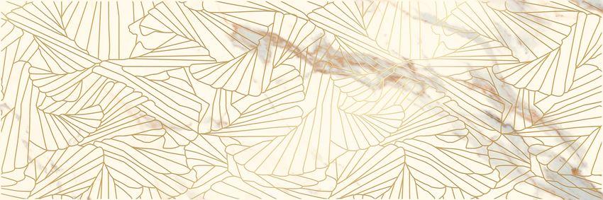 Płytka dekoracyjna 25x75 cm Paradyż Serene Bianco Inserto