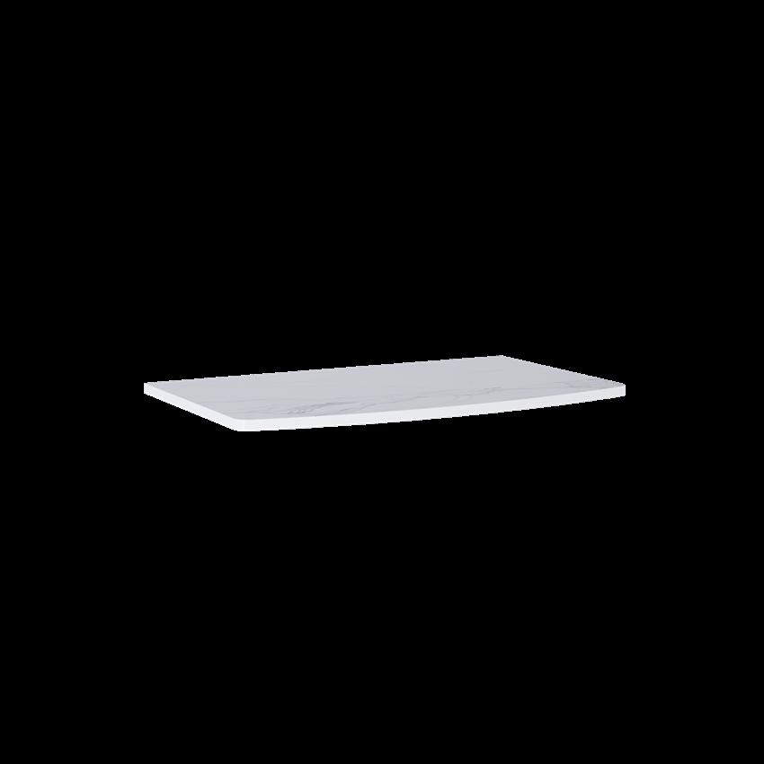Blat naszafkowy pełny 81 cm Elita Rolly MARMUR CALACATTA WHITE MATT