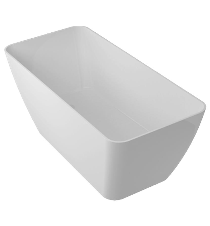 Wanna wolnostojąca 70,5x61,8x159 cm Omnires Marble+