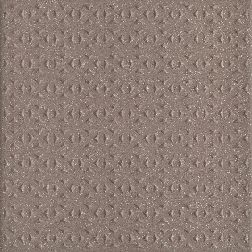 Płytka ścienno-podłogowa 19,8x19,8 cm Paradyż Bazo Moka Gres Sól-Pieprz Struktura