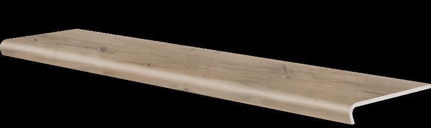 Płytka stopnicowa 32x120,2 cm Cerrad V-shape Tonella beige