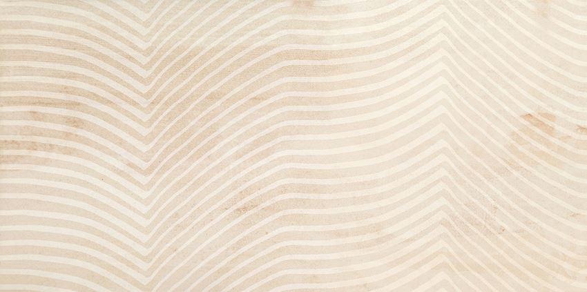 Dekor ścienny 59,8x29,8 cm Tubądzin Shine Concrete light