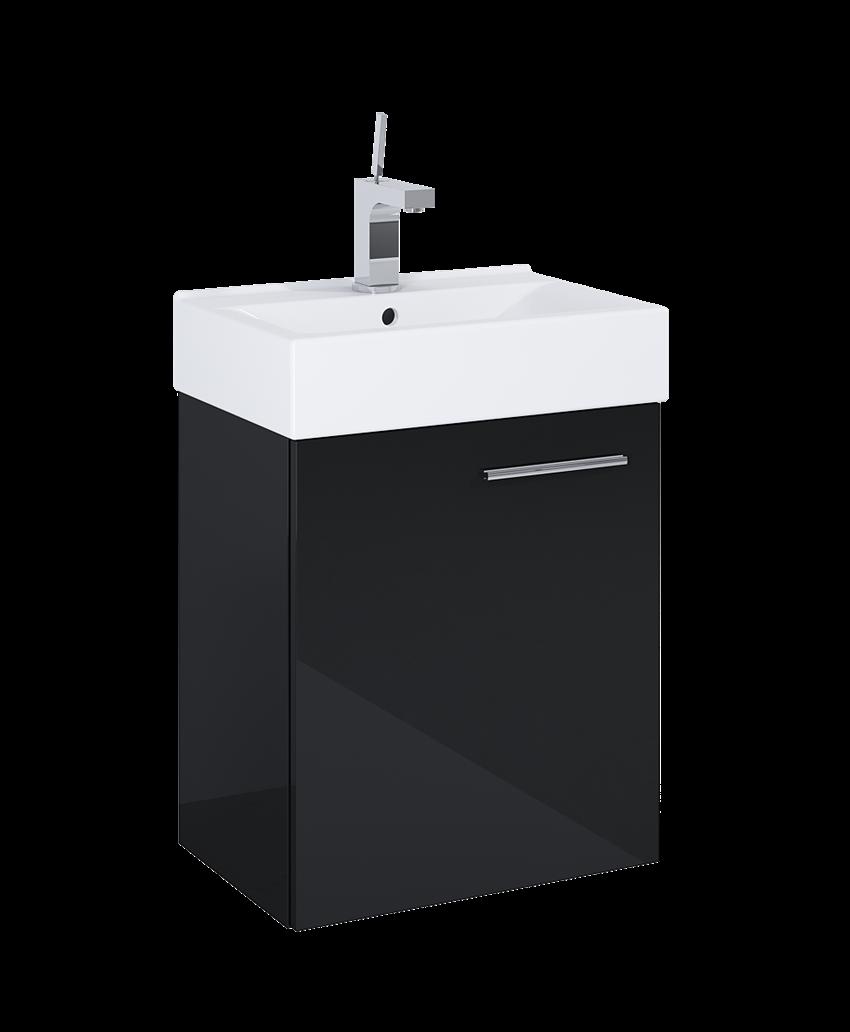 Szafka z umywalką 45 cm Elita Tiny Black