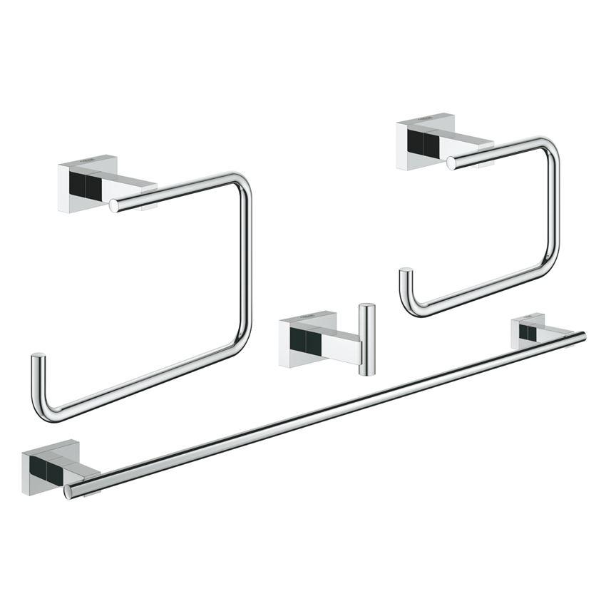 Zestaw akcesoriów łazienkowych 4 w 1 Grohe Essentials Cube