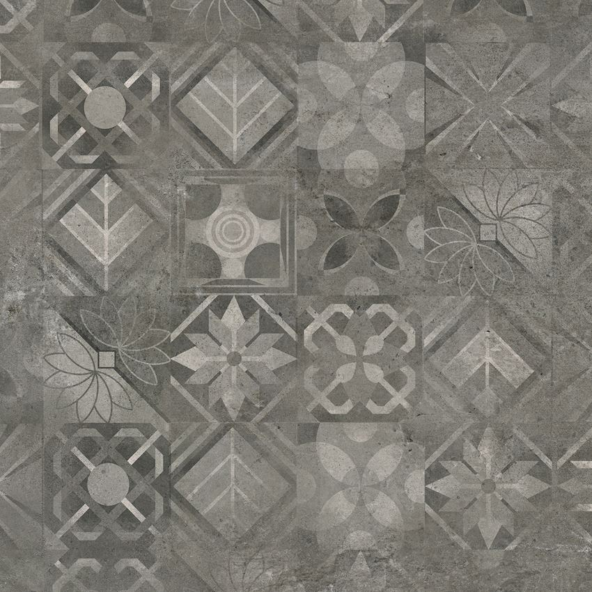 Płytka dekoracyjna Cerrad Softcement graphite patchwork 2