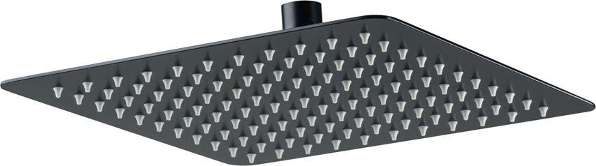 Głowica natryskowa kwadratowa czarna Deante Floks