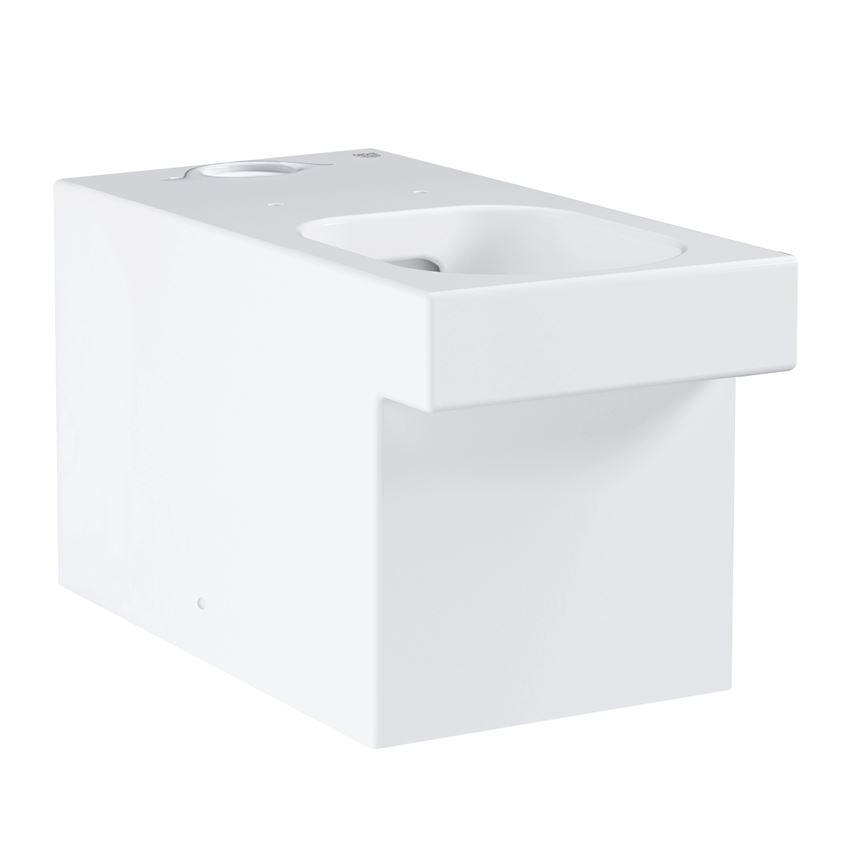 Kompaktowa miska WC stojąca Grohe Cube Ceramic