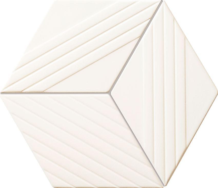 Mozaika ścienna 22,6x19,8 cm Tubądzin Colour White