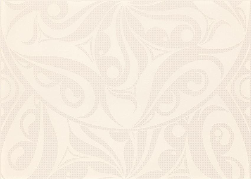 Płytka dekoracyjna 25x35 cm Cersanit Optica white inserto circles