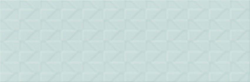 Płytka ścienna 20x60 cm Cersanit Zambezi green big structure matt