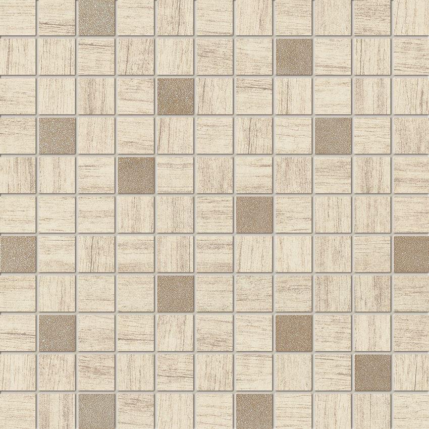 Mozaika ścienna 30x30 cm Domino Pinia beż