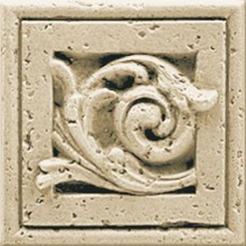 Dekoracyjny narożnik 9,8x9,8 cm Opoczno Salonika Cream Corner Classic