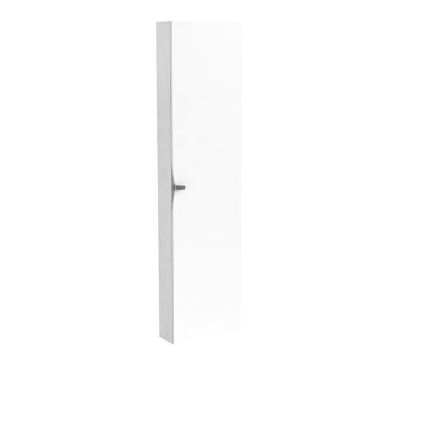 Szafka wysoka boczna biała 32x40x160 cm Oristo Siena