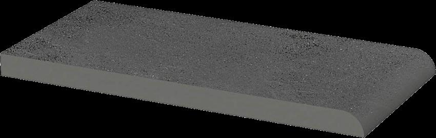 Płytka elewacyjna 10x20 cm Paradyż Semir Grafit Parapet