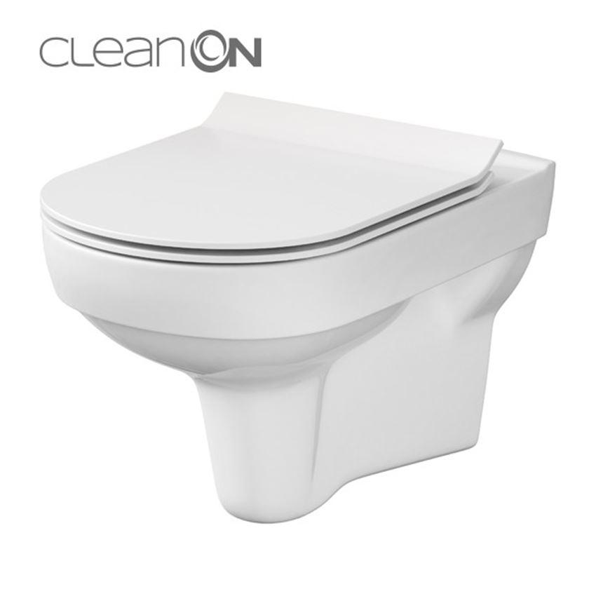 deszka podwieszana Cersanit City CleanOn Box K35-028