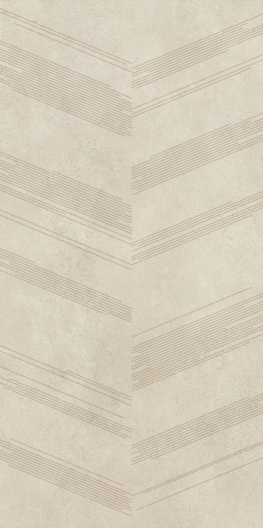 Płytka dekoracyjna 59,8x119,8 cm Paradyż Silkdust Light Beige