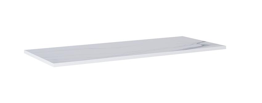 Blat naszafkowy pełny 120 cm Elita ElitStone MARMUR CALACATTA WHITE MATT