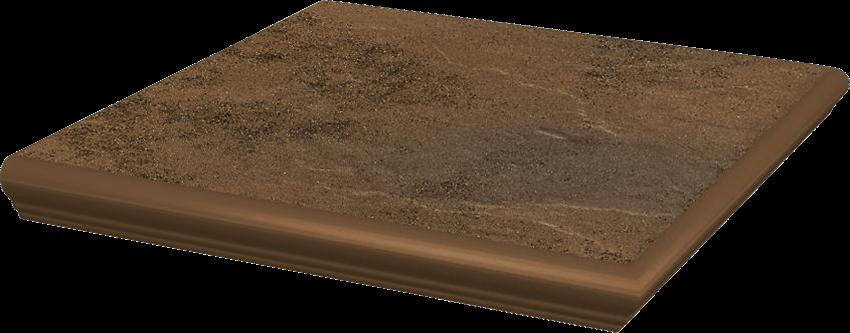 Płytka stopnicowa 33x33 cm Paradyż Semir Beige Kapinos Stopnica Narożna
