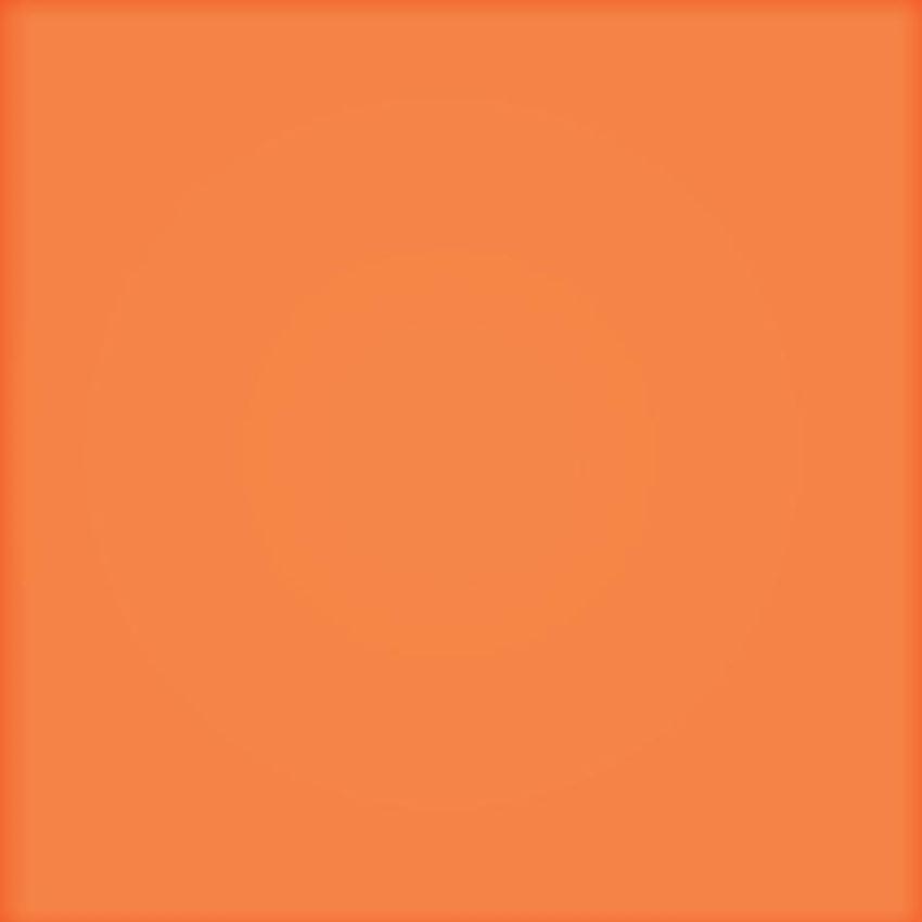 Płytka ścienna Tubądzin Pastel pomarańczowy mat