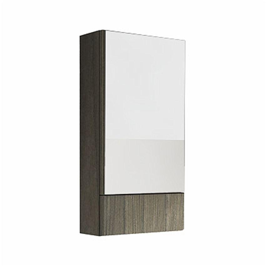 Szafka wisząca z lustrem 46,4x85x17,6 szary jesion Koło Nova Pro