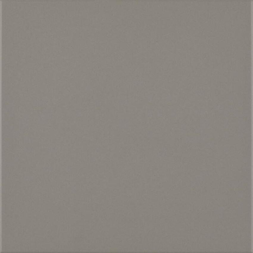 Płytka ścienno-podłogowa 19,8x19,8 cm Paradyż Bazo Grys Gres Monokolor Mat