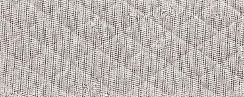 Płytka ścienna 74,8x29,8 cm Tubądzin Chenille Pillow Grey STR