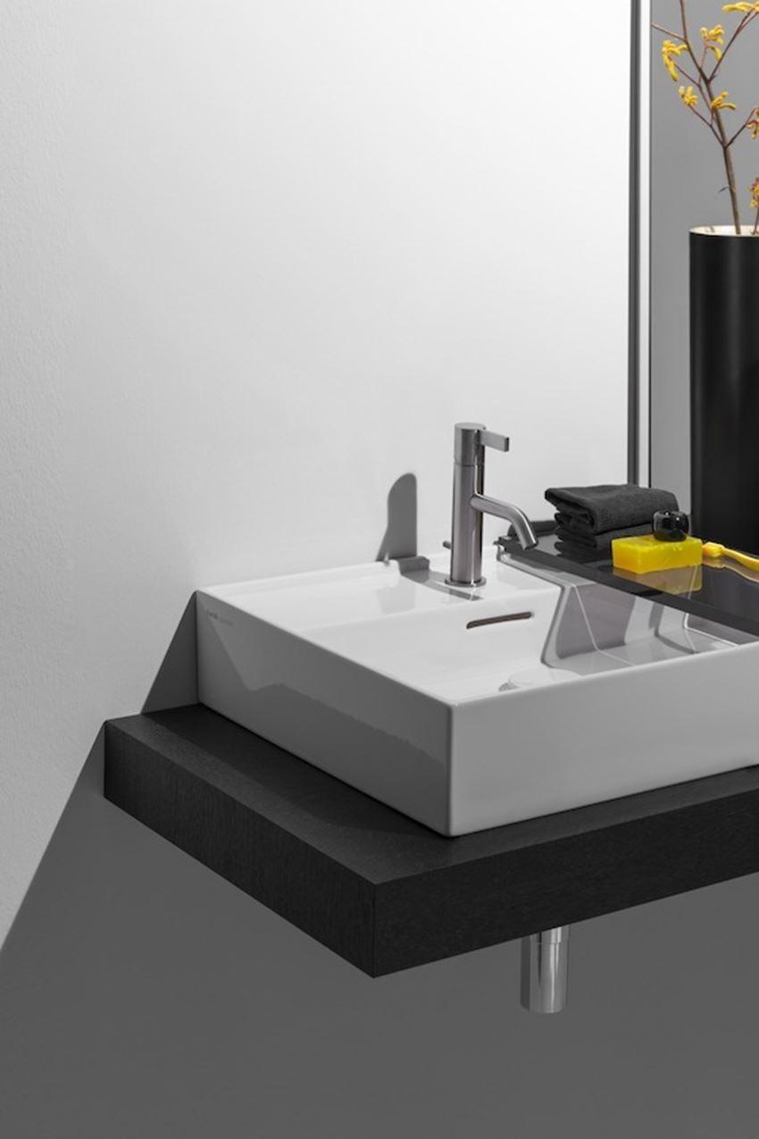 Umywalka ścienna/nablatowa 50 cm Laufen Kartell